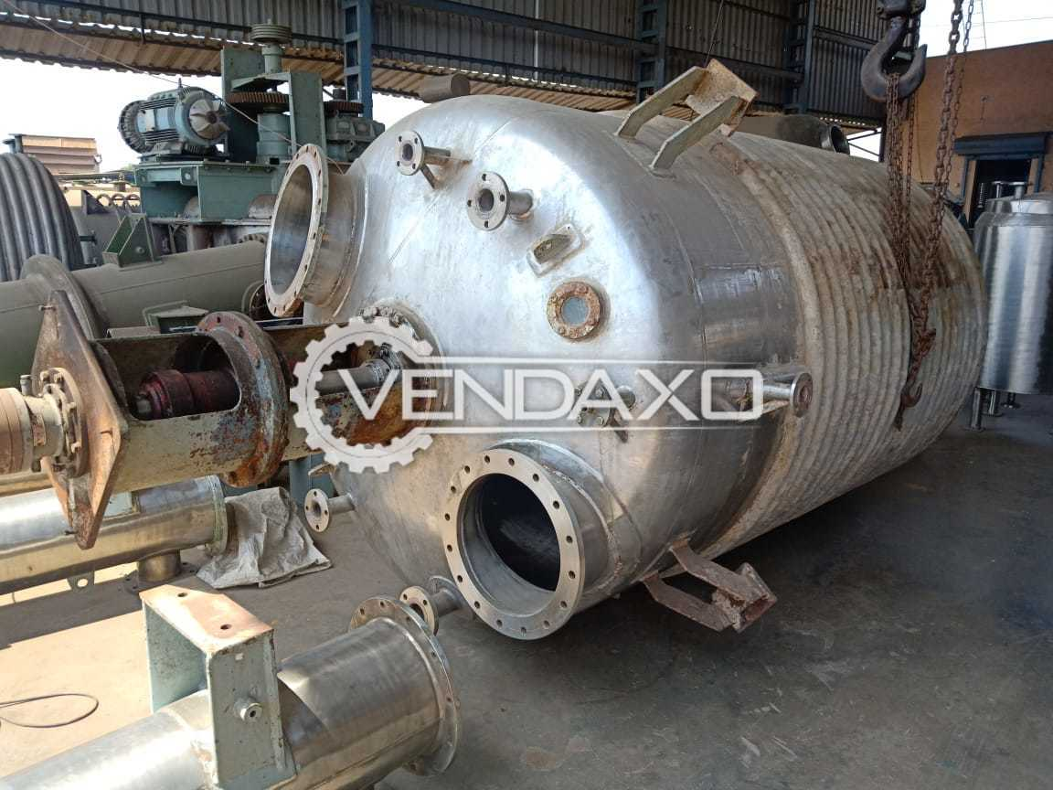SS Reactor With Mechanical Seal - 6 KL