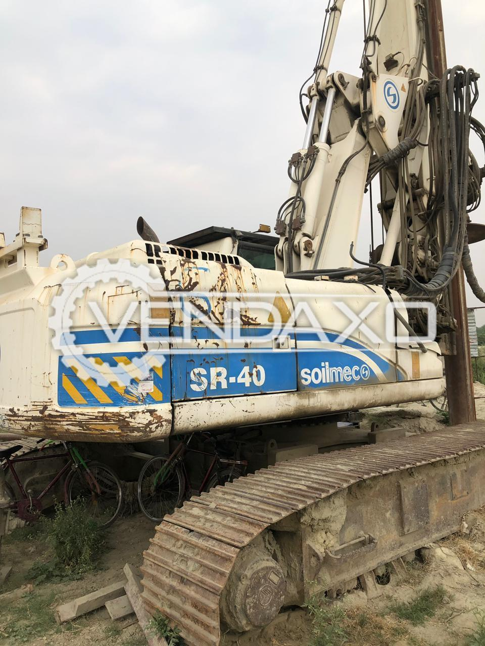 Soilmec SR-40 Drilling Rigs - 150 KN, 2014 Model