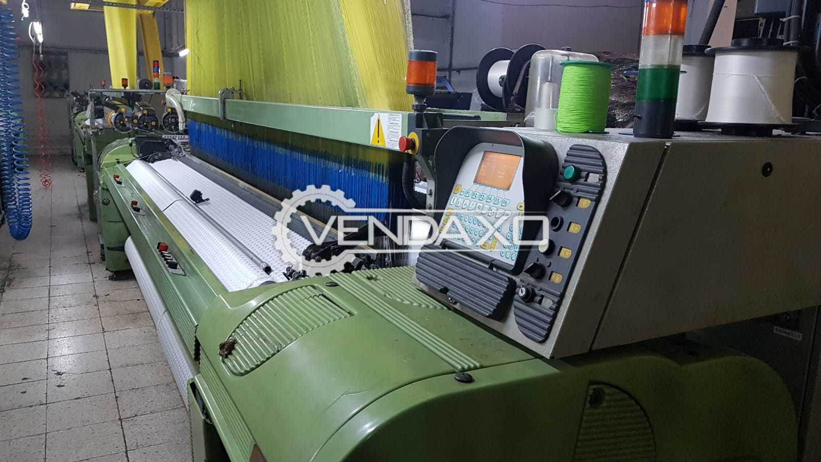 5 Set OF Somet Thema Super Excel Weaving Machine - Width - 3400 mm, 2002 Model