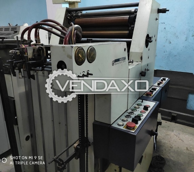 Adast Dominant 515 Offset Printing Machine - 15 X 20 Inch, Single Color