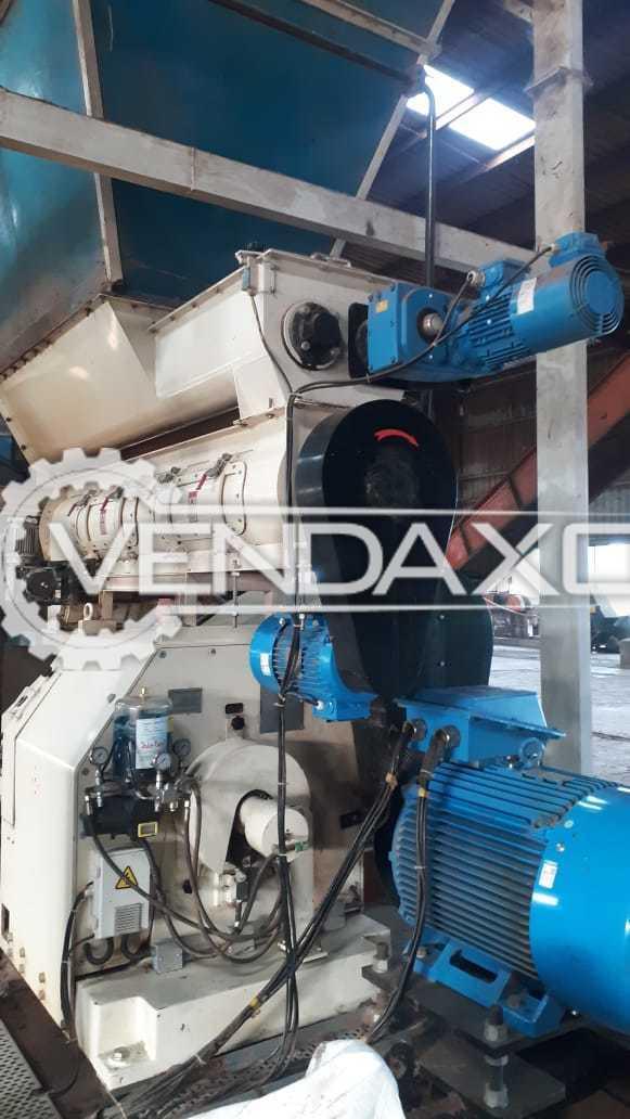 Andritz Make SDPMB520 Pellet Mill Machine -  2.2 KW