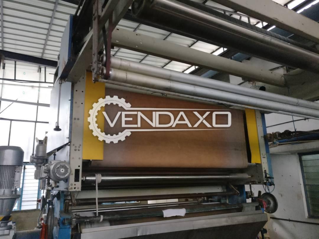 Monforts Toptex Textile Sanforizing Machine - Width - 2200 mm