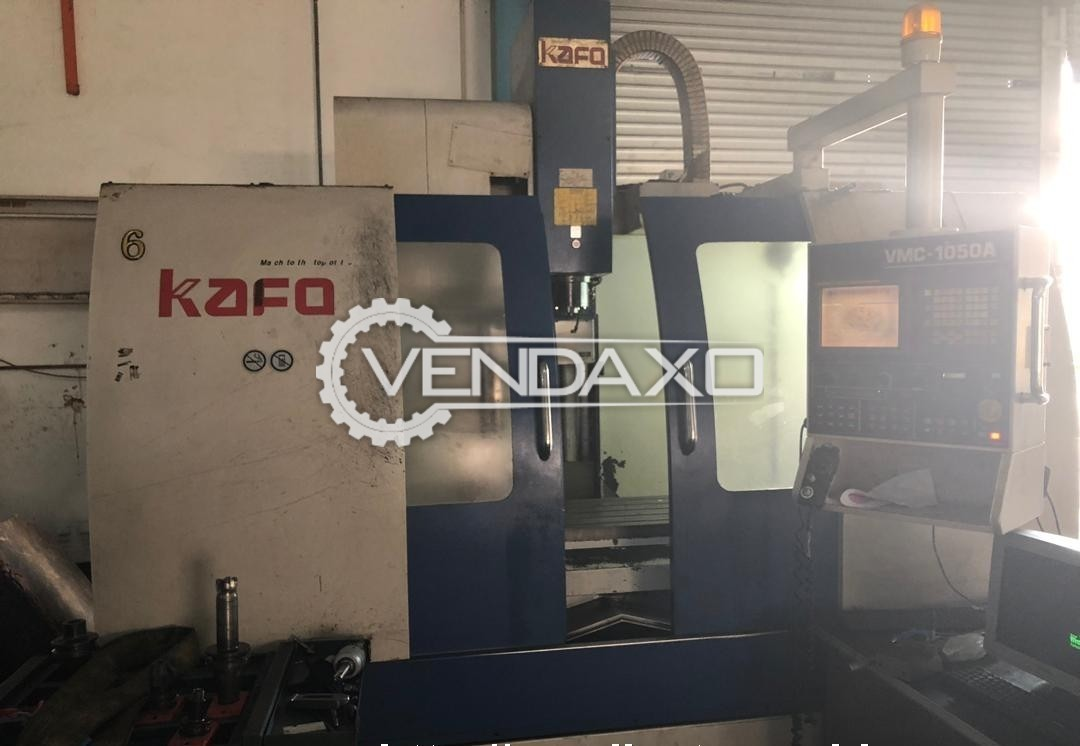 KAFO VMC-1050A CNC Vertical Machining Center - Table Size : 520 x 1150 mm