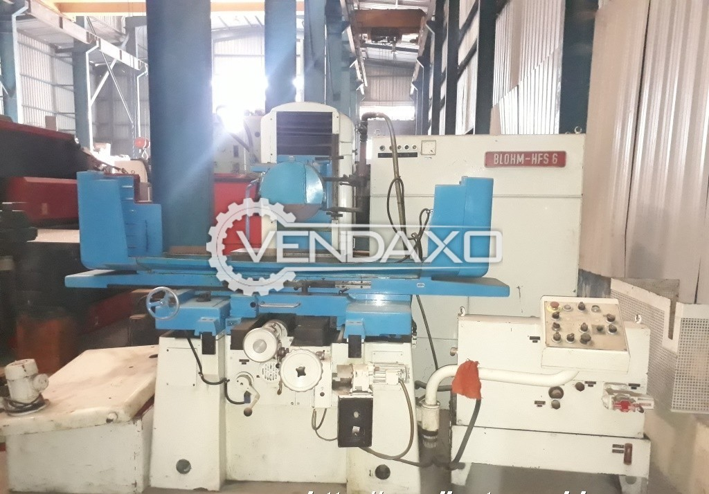 Blohm HFS-6 Surface Grinding Machine - Table Size : 610 x 300 mm