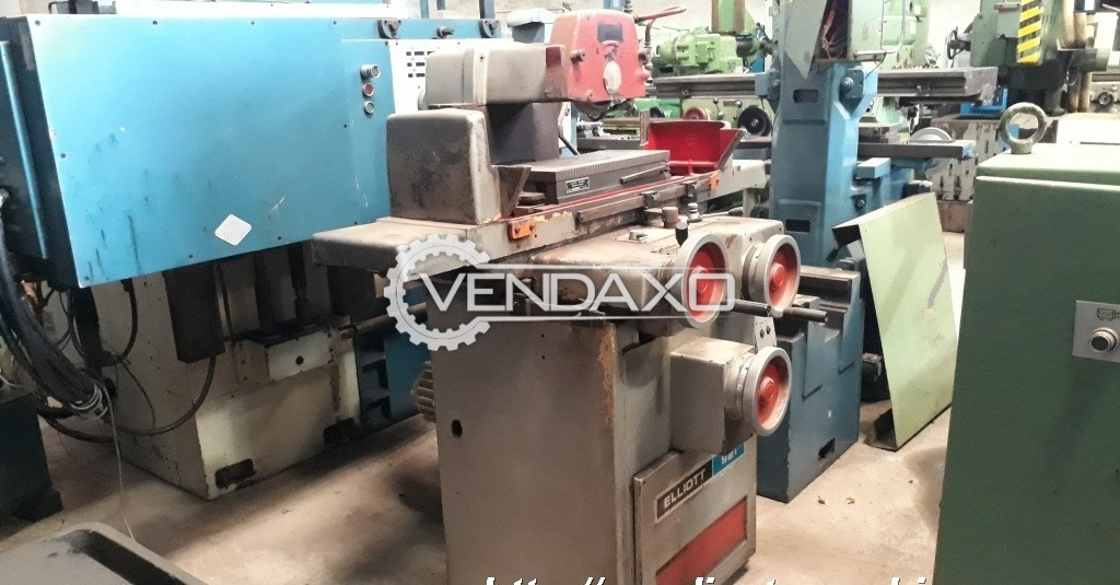 Elliott 921 Surface Grinding Machine - Magnetic Plate size : 500 x 250 mm