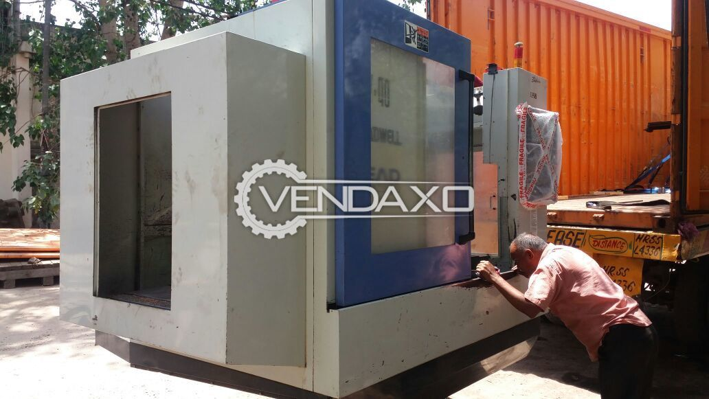 Leadwell V-40 CNC Vertical Machining Center - Table Size : 1200 x 500 mm