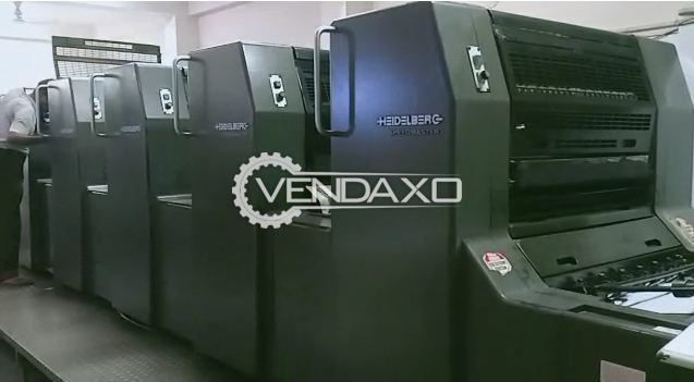 Heidelberg SM 74 1+4 Offset Printing Machine - 4 Color, 1996 Model