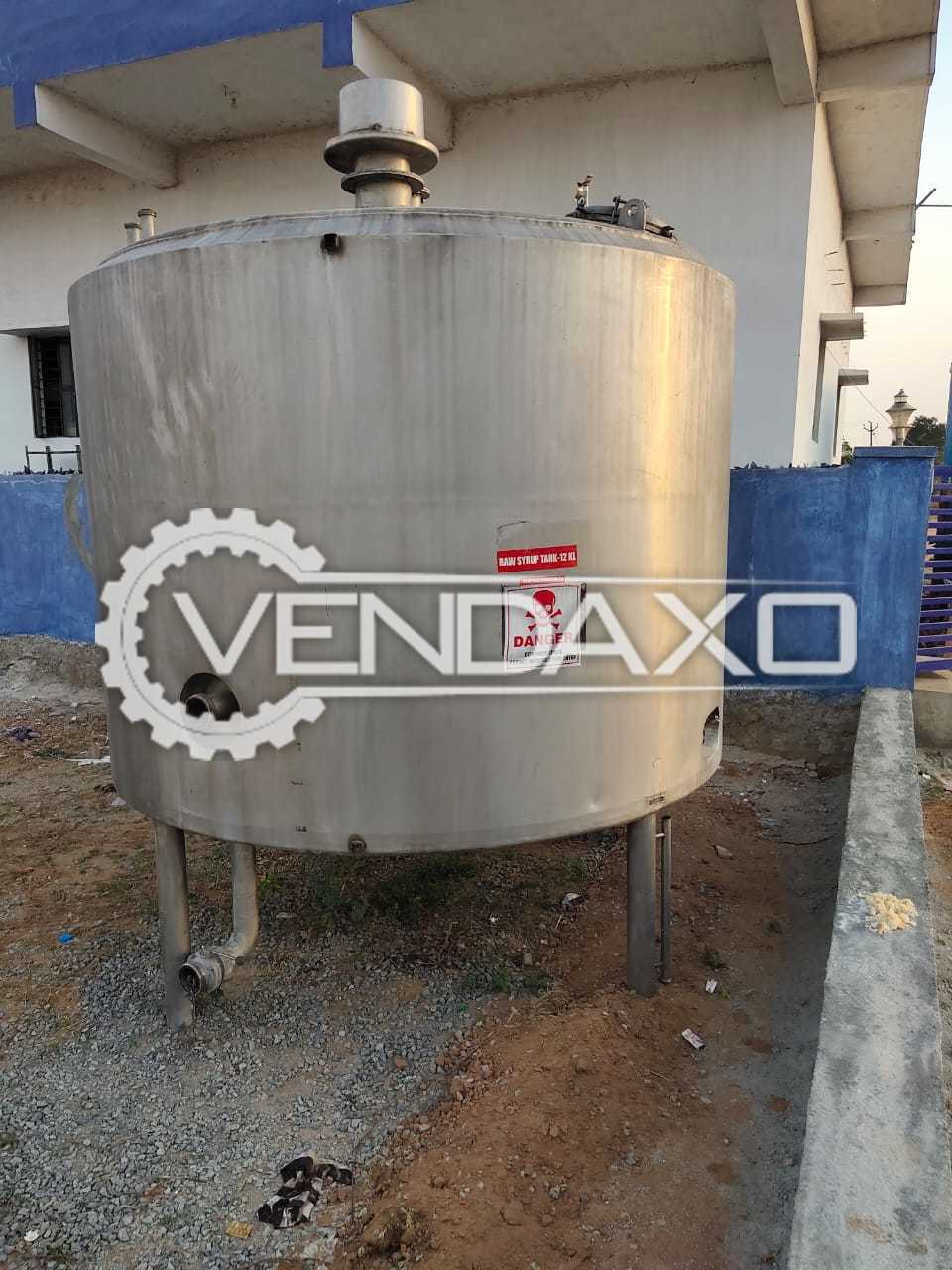 SS 304 Vertical insulated Storage Tank - 12 KL