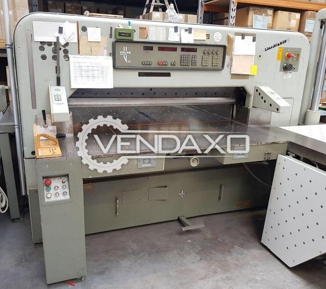 Polar 155 EMC Cutting Machine - Size - 61 Inch