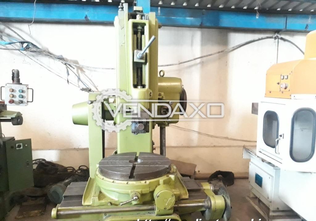 Stanko Make Slotting Machine - Stroke Length : 250 mm