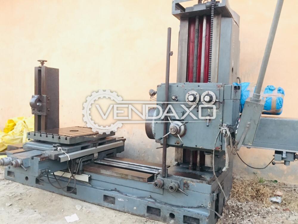 Romania AFD 85 Boring Machine - Spindle Diameter : 85 mm
