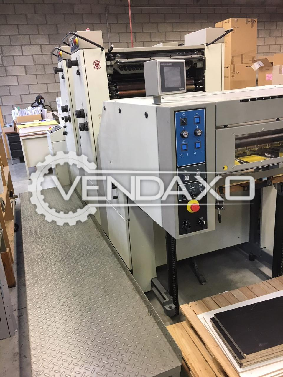 Adast Dominant 725CP Offset Printing Machine - 2 Color