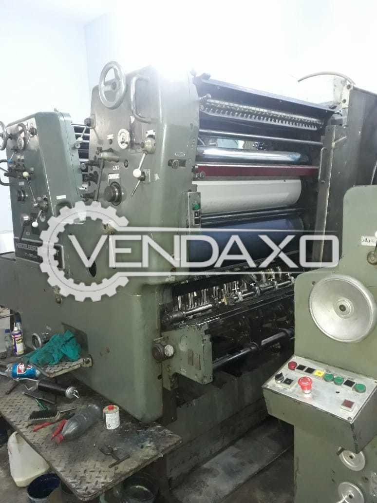 Heidelberg SORSZ Offset Printing Machine - 2 Color
