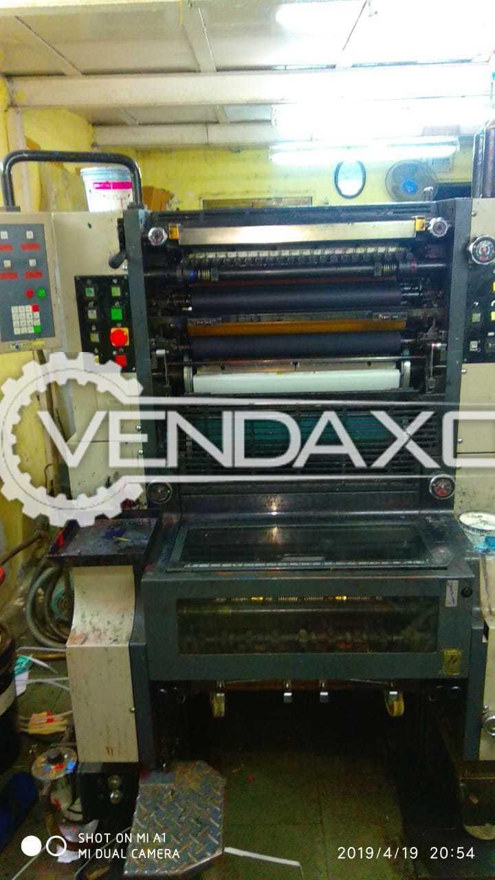 Ryobi 520 Offset Printing Machine - Single Color