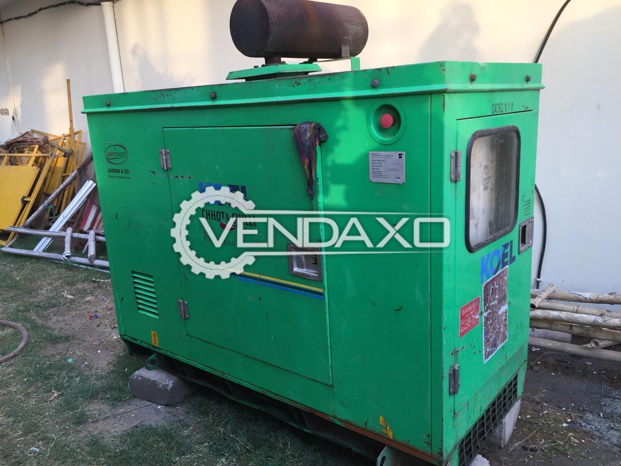 Kirloskar EA16 Diesel Generator - 10 kVA, 2015 Model