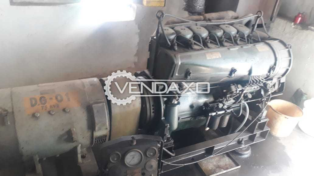 Kirloskar DG 01 Diesel Generator - 75 kVA