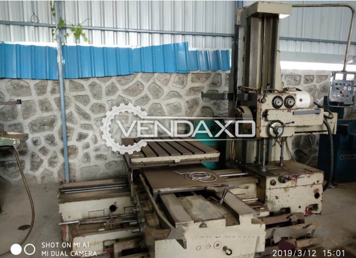LAZZATI HB-76 Horizontal Boring Machine - Table Size : 1100 x 900 mm
