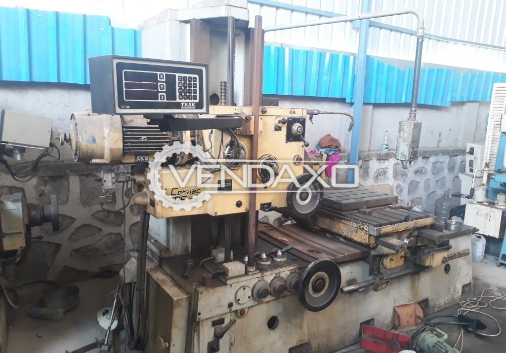 CORNAC BS 65 Horizontal Boring Machine  - Table Size : 1150 x 600 mm