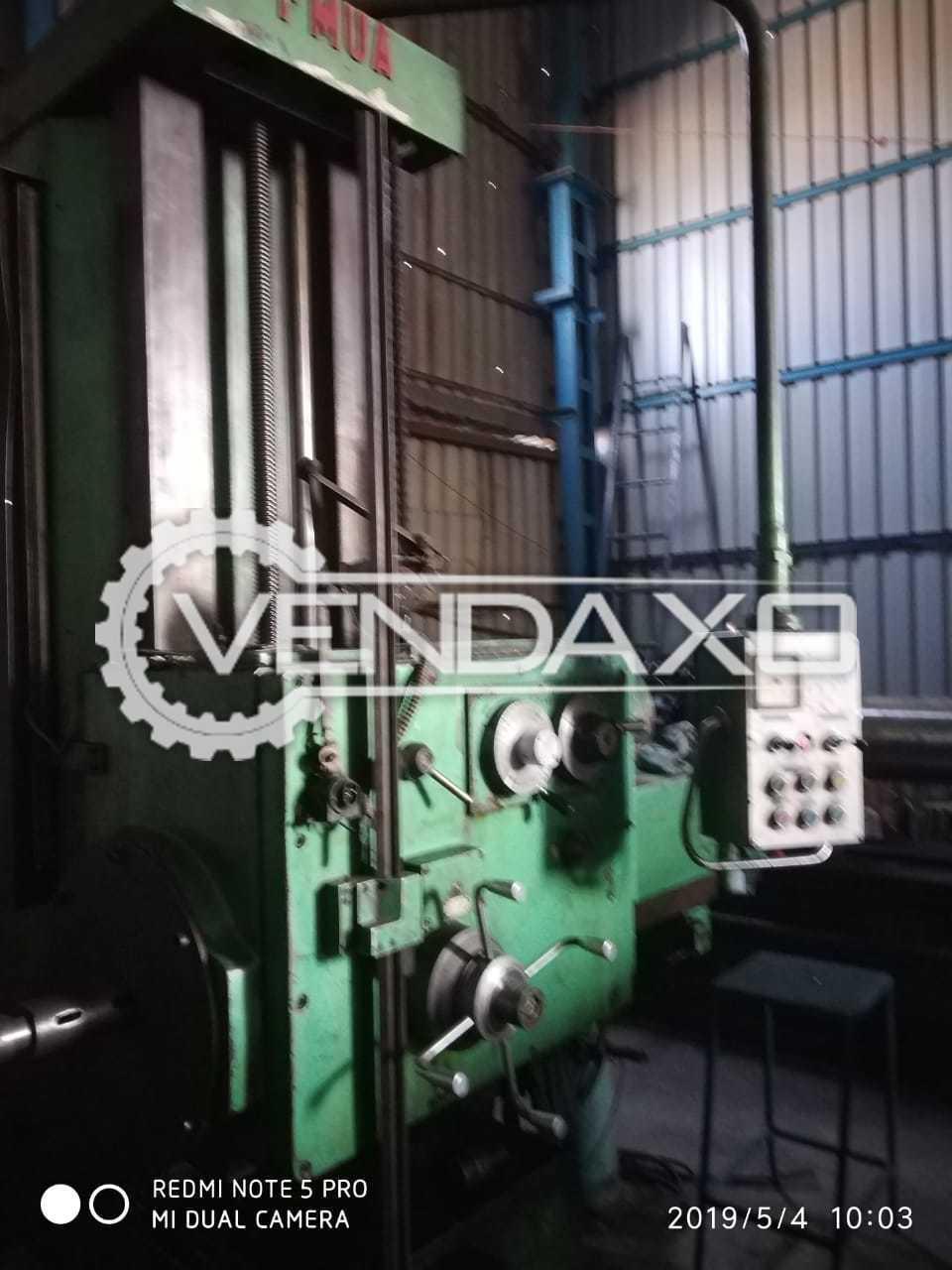 Punjab Make Boring Machine - Chuck Diameter : 1000 mm