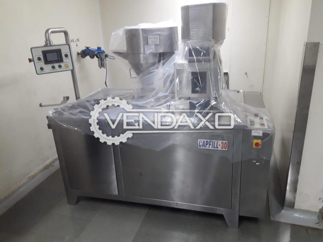 Anchor Mark Make Capsule Filling Machine - Model SA-9