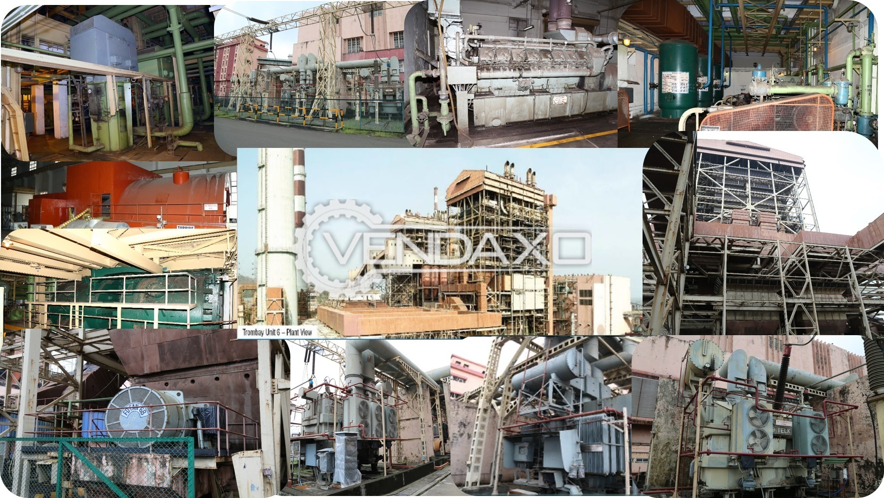 Available For Sale Oil and Gas Thermal Power Plant Equipment - 1990 Model