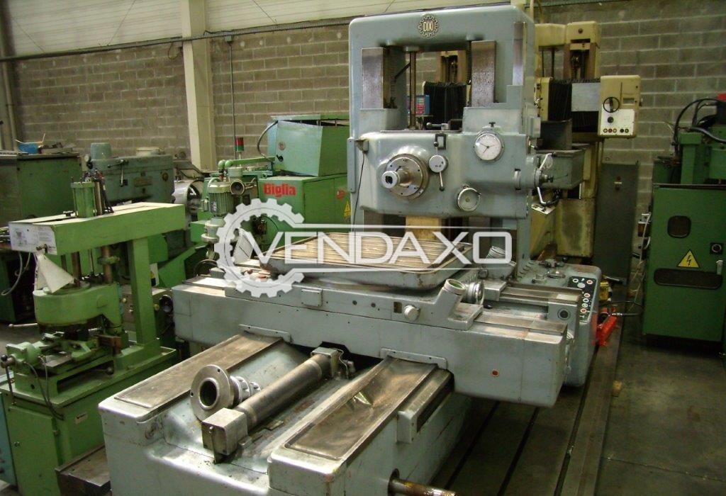 DIXI 75 ON Jig Boring Machine - Spindle Diameter : 75 mm