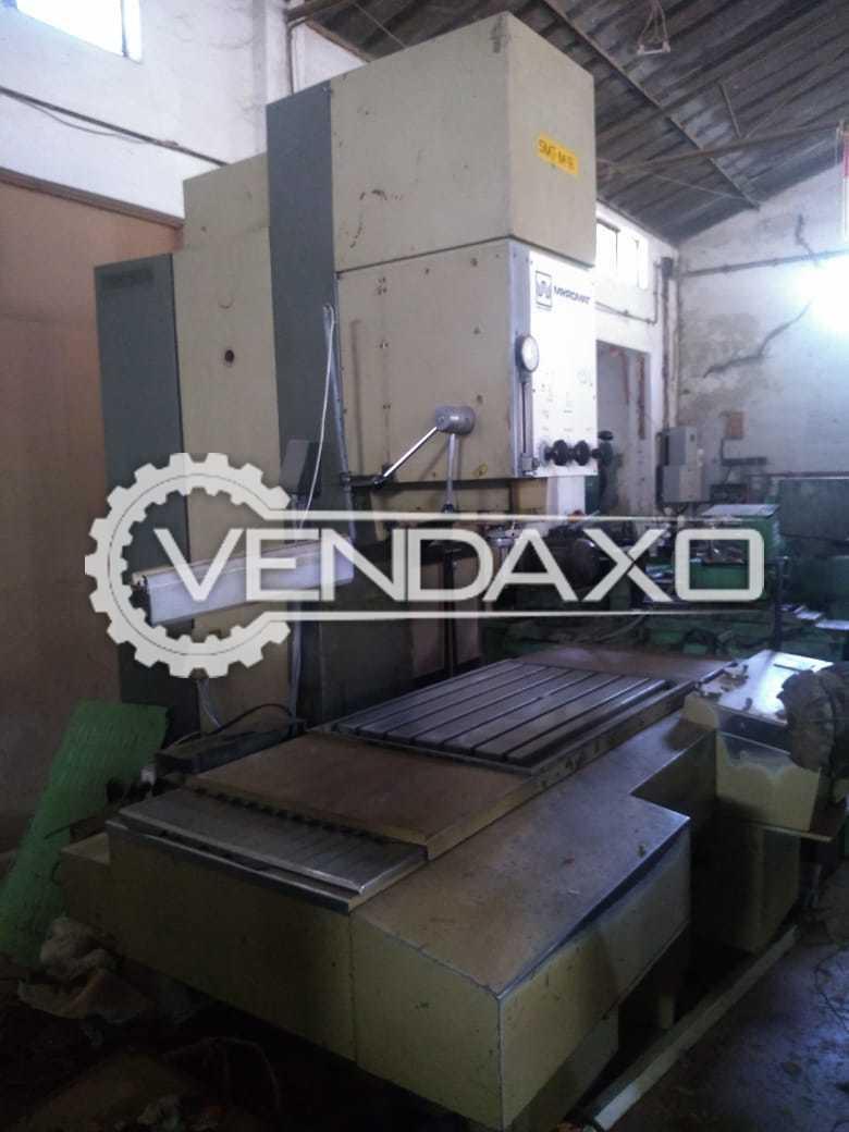 WMW Jig Boring Machine - Size - 900 x 650 x 750 mm