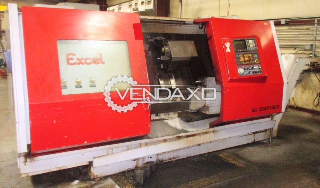 CNC lathe Machine - 500 MM, 400 mm chuck