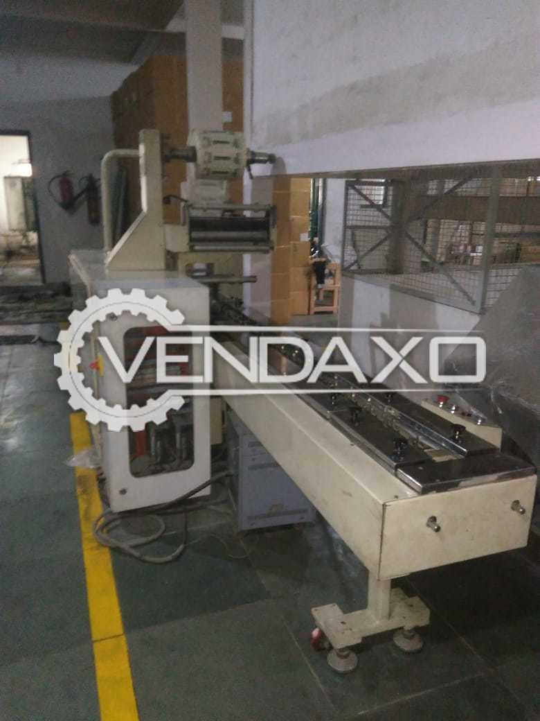 Automatic Horizontal Form Fill Seal Sachet Filling & Capping Machine - 5 to 10 Gram