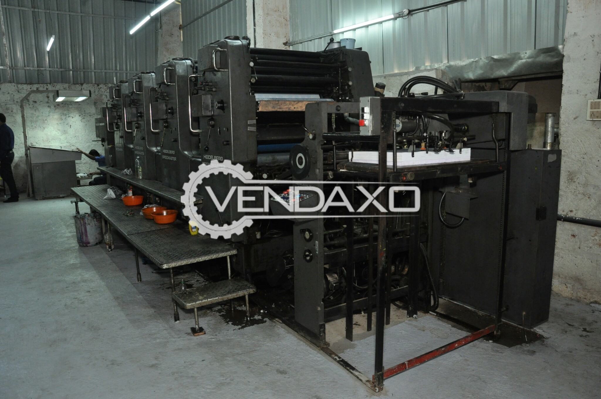 Hiedelberg Speedmaster Printing Machine - 4 Color