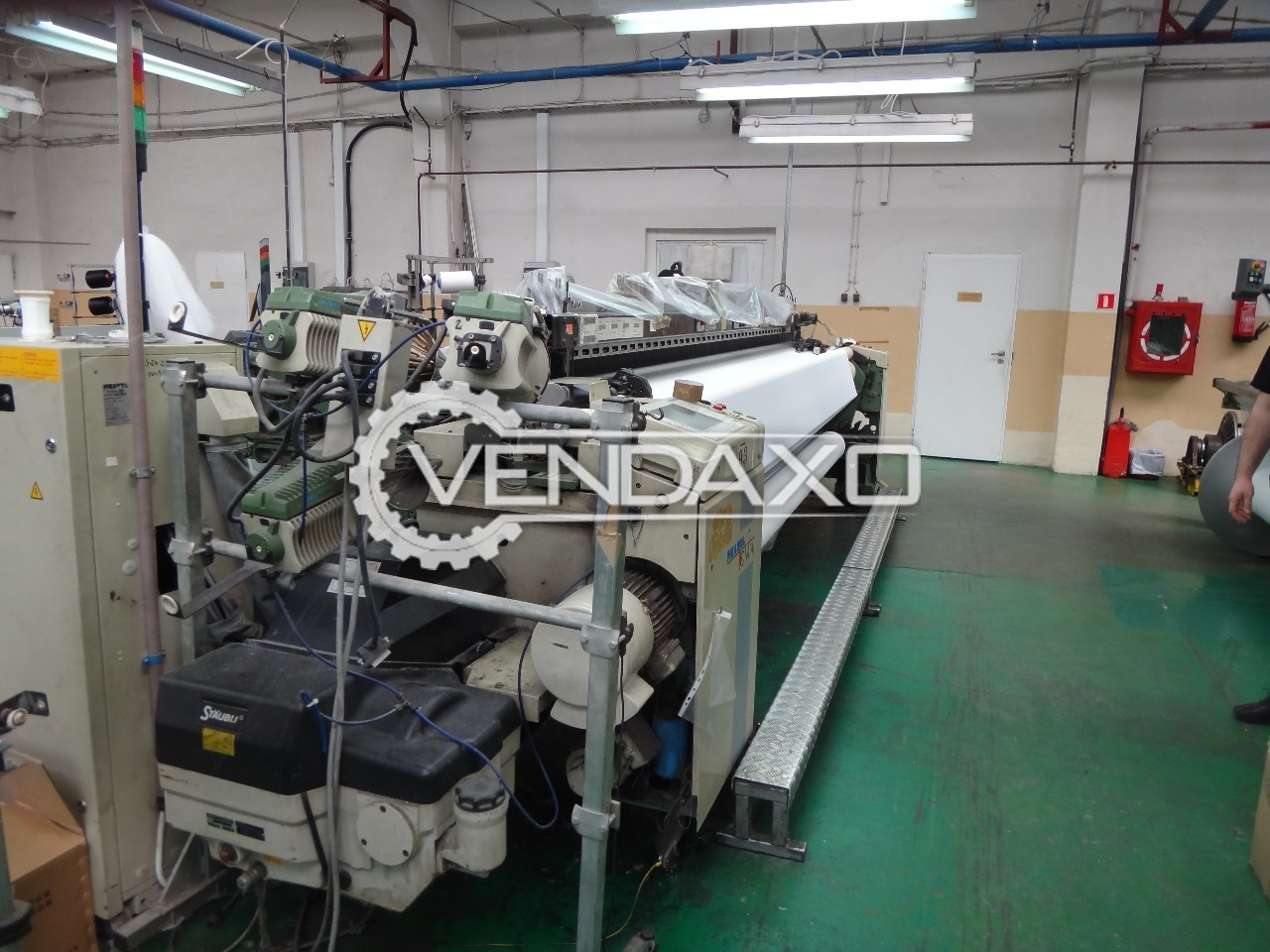 Picanol omni f 4 r loom machine 2