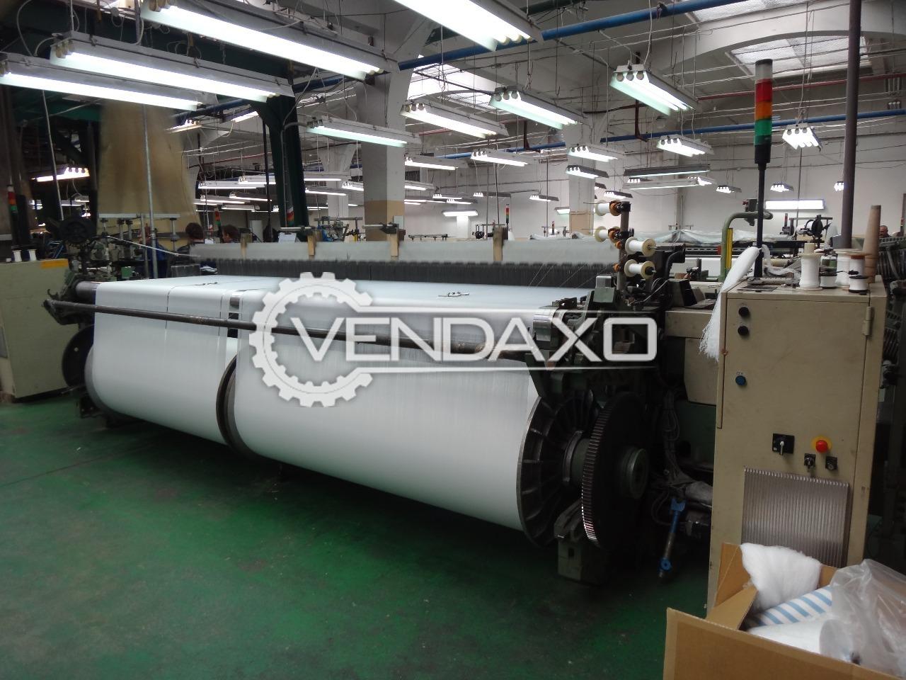 Picanol omni f 4 r loom machine 3