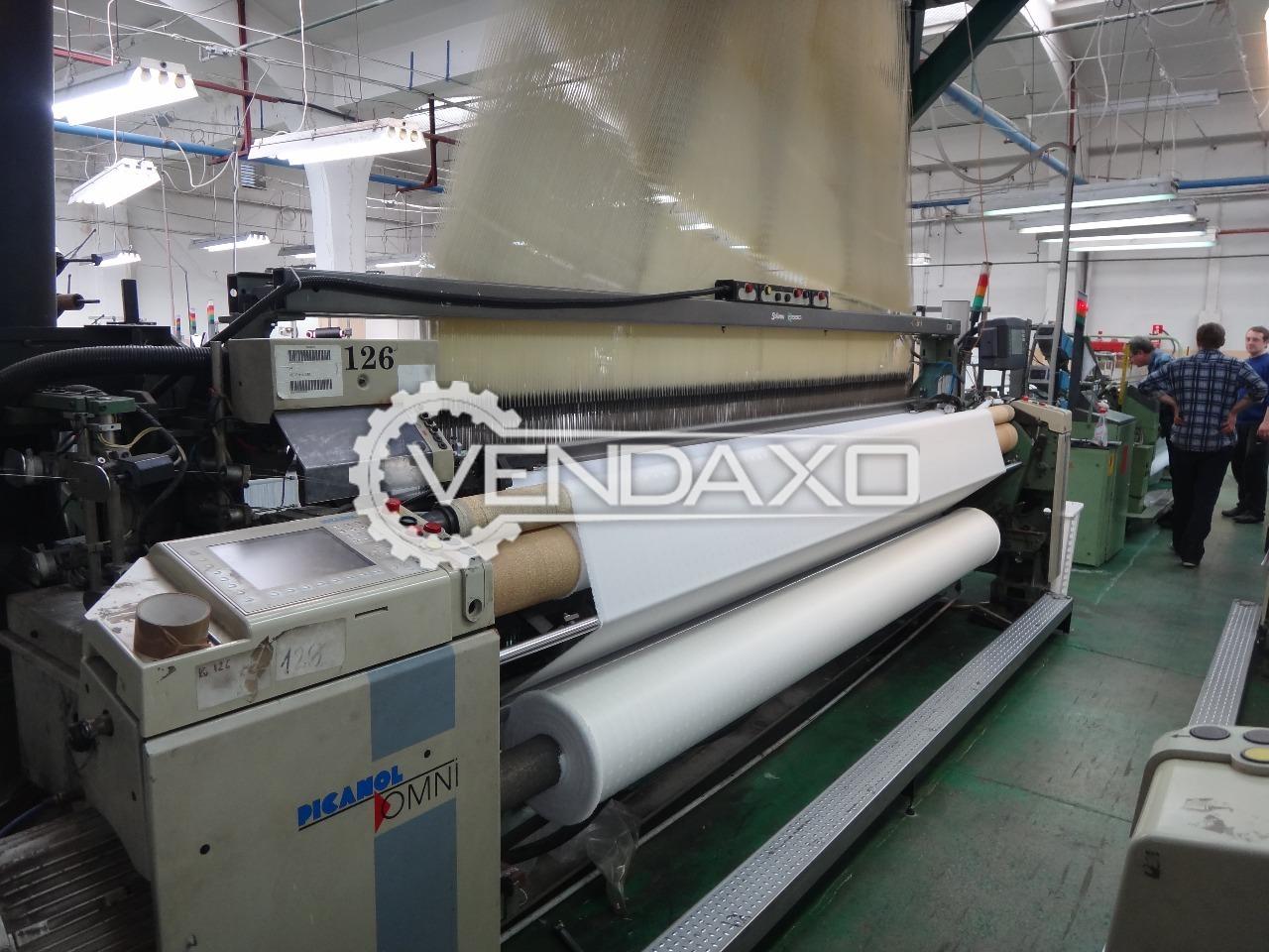 Picanol omni f 4 j loom machine