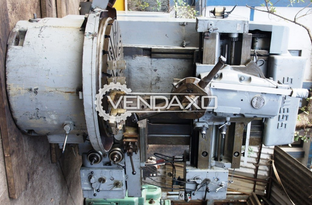 Schiess 13ek125 vertical turning lathe