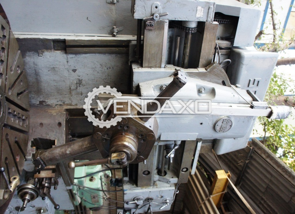 Schiess 13ek125 vertical turning lathe 2
