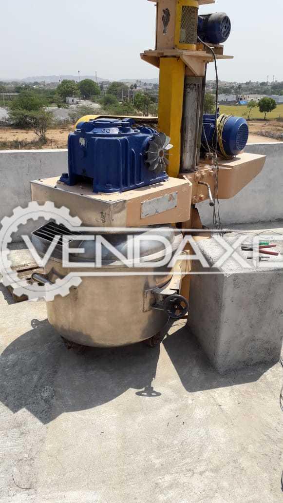 Planetary Mixer - 200 Liter