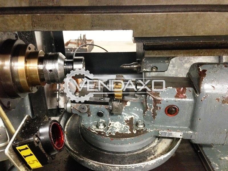Koepfer 172 gear hobbing machine 2