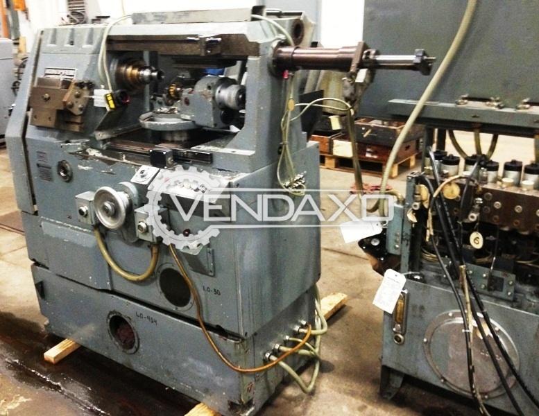 Koepfer 172 gear hobbing machine 3