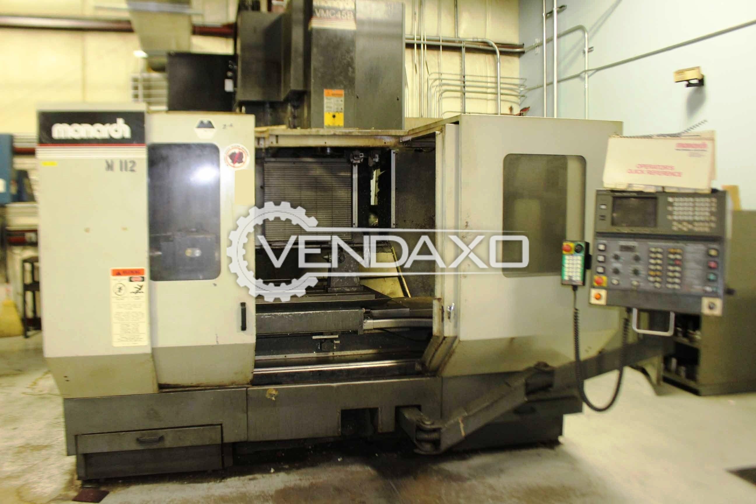 Monarch 45b vertical machining center
