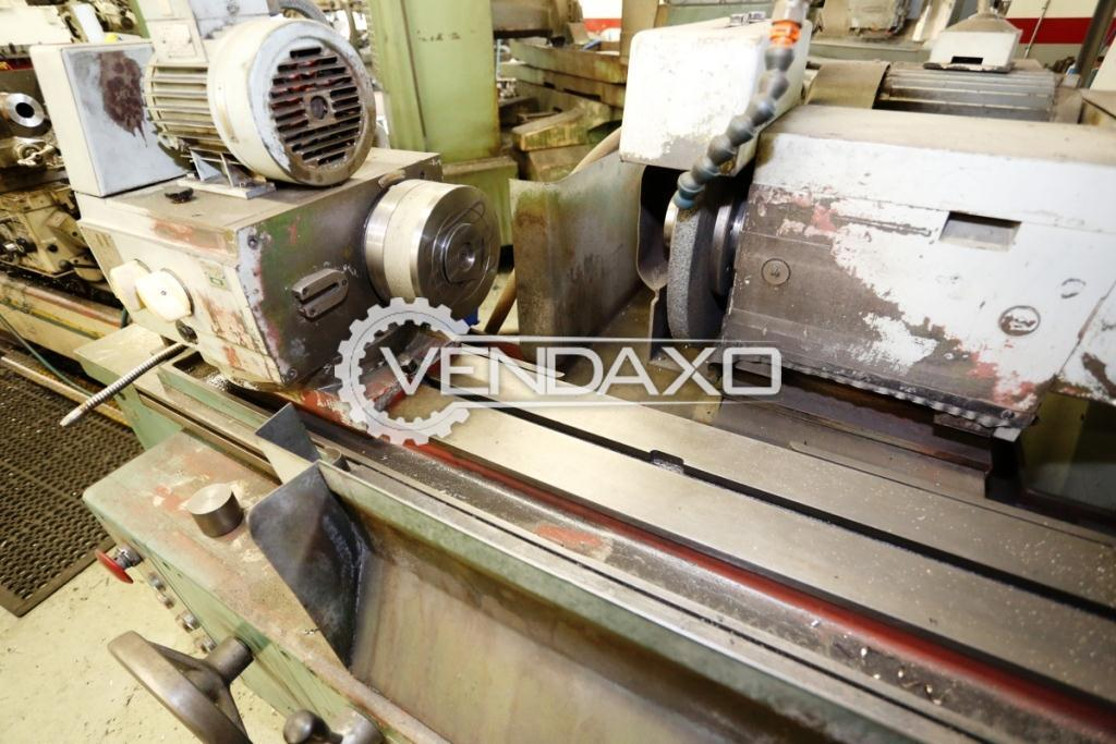 Tos bu 28 630 cylindrical grinding machine 2