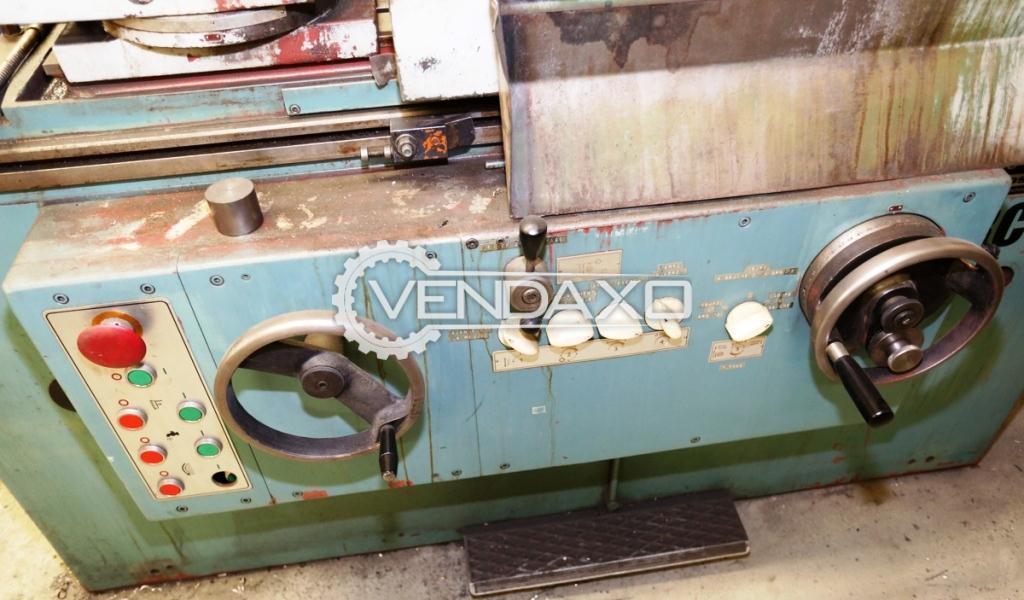 Tos bu 28 630 cylindrical grinding machine 3