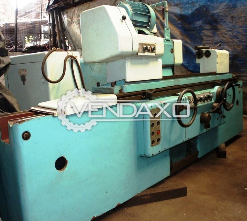 Tos bu 50 1000 cylindrical grinding machine