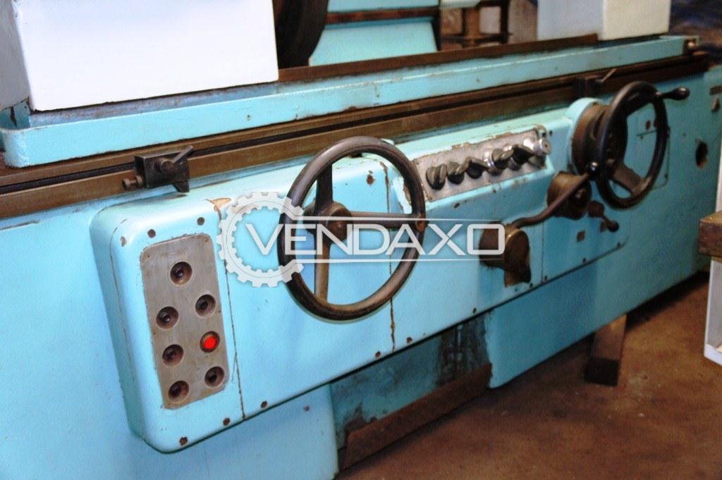 Tos bu 50 1000 cylindrical grinding machine 2