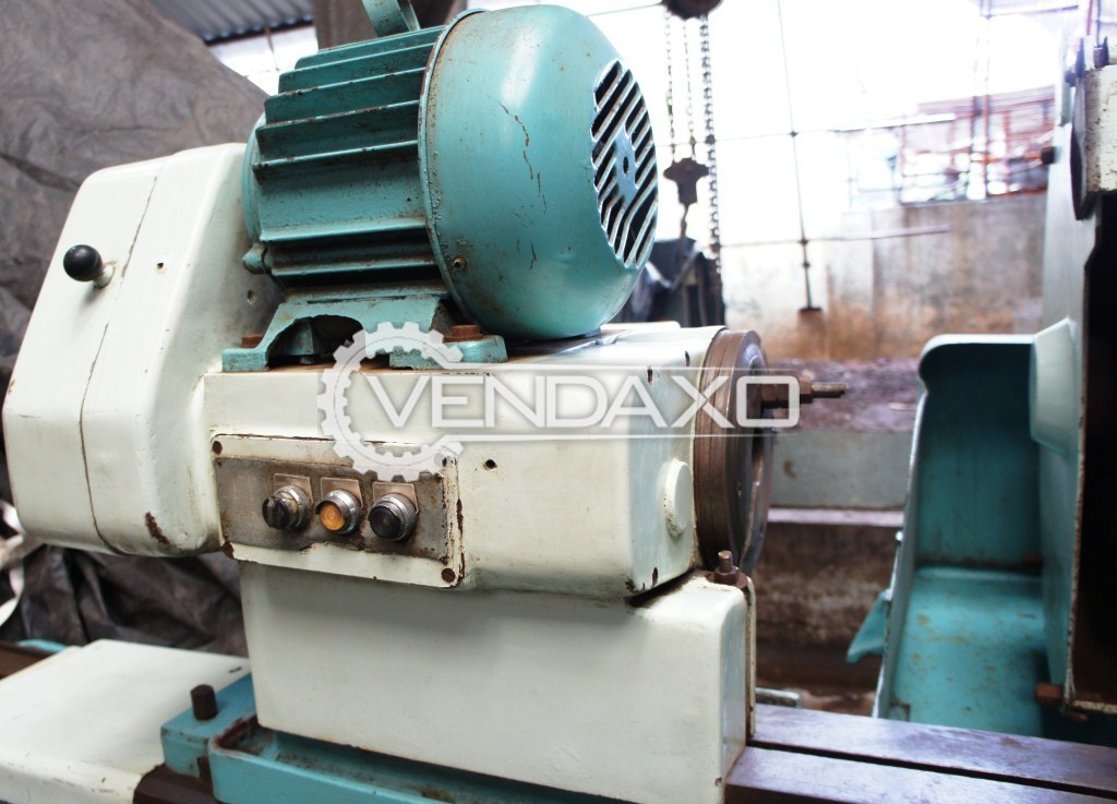 Tos bu 50 1000 cylindrical grinding machine 3