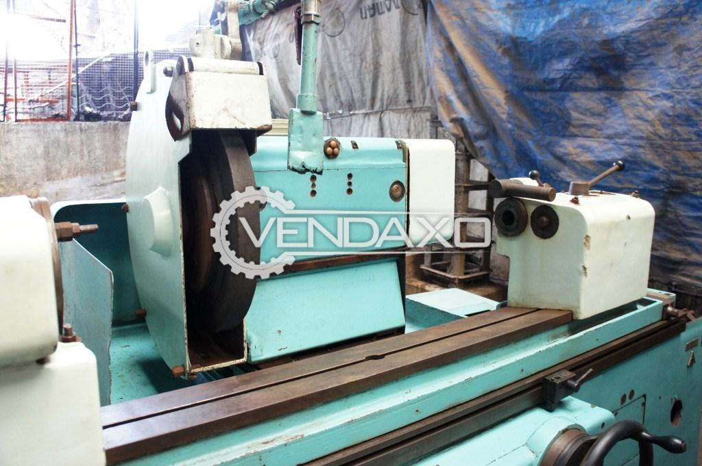 Tos bu 50 1000 cylindrical grinding machine 4