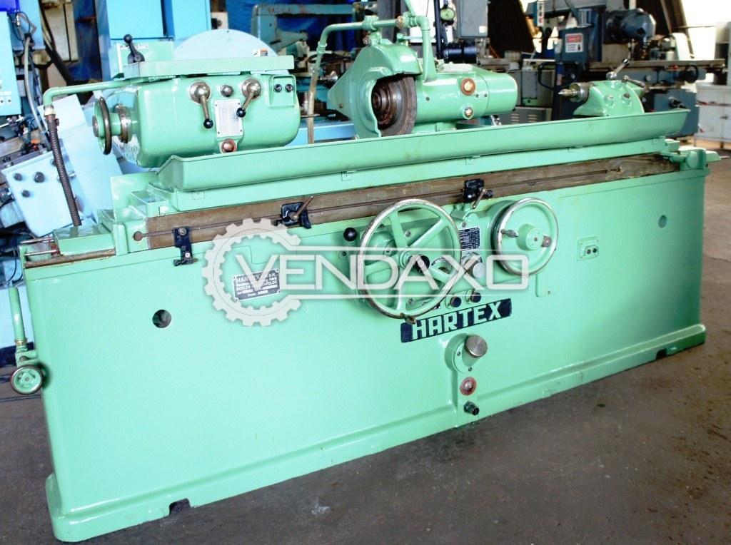 Hartex rhu 1020 universal cylindrical grinding machine