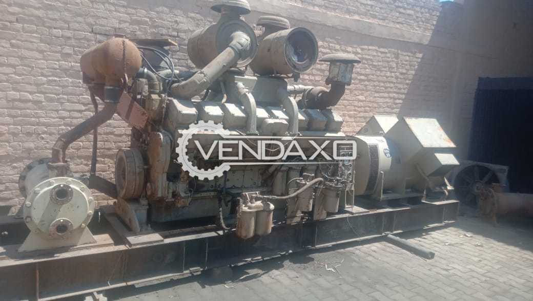 Cummins KTA - 3067 G Diesel Generator - 1000 kVA, 1989 Model