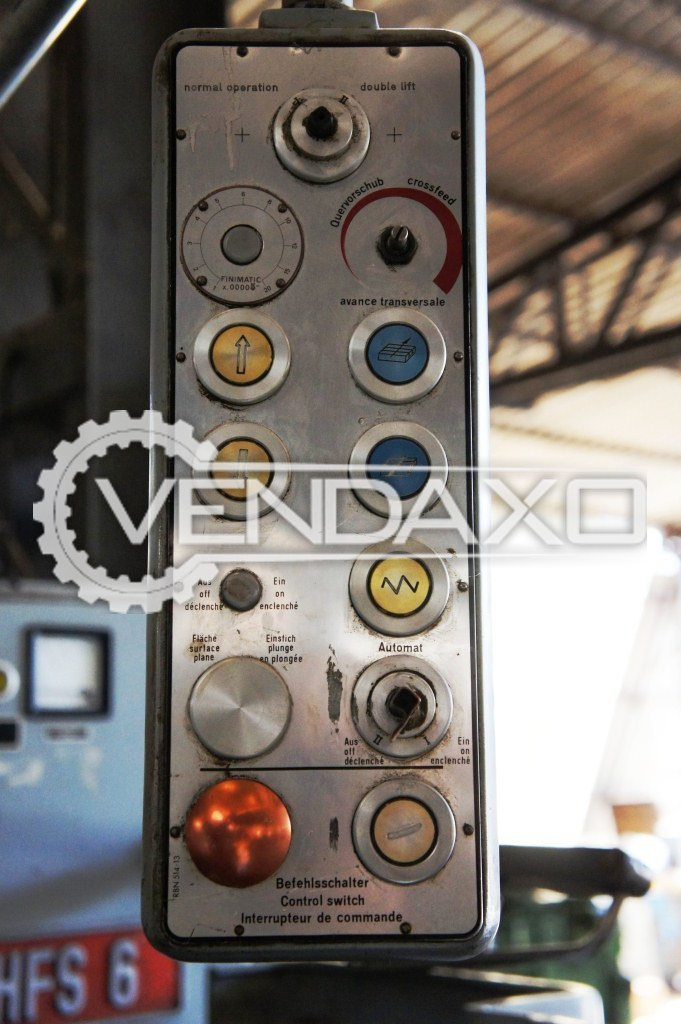 Blohm hfs 6 surface grinding machine 3