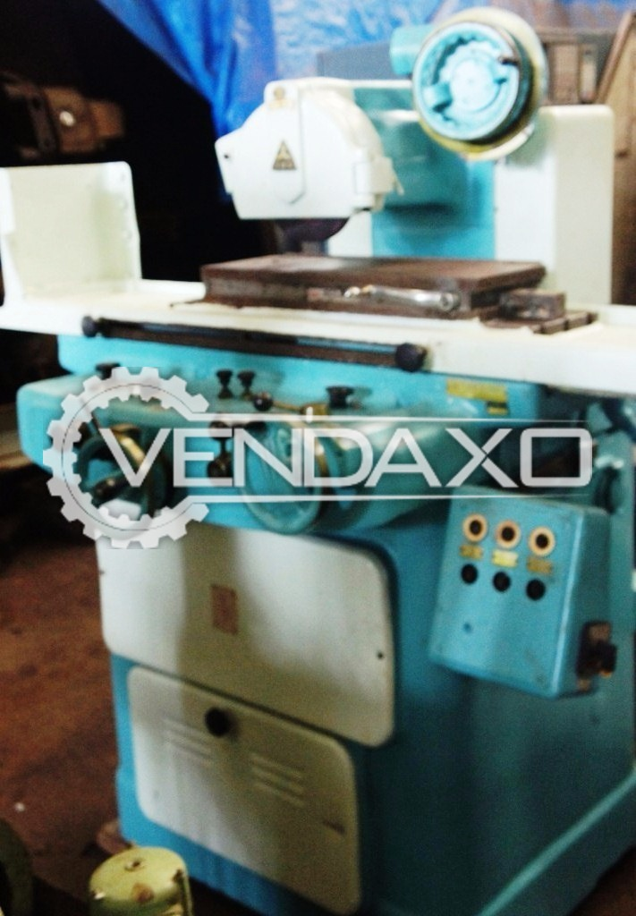 Tos bph 20 surface grinding machine 2