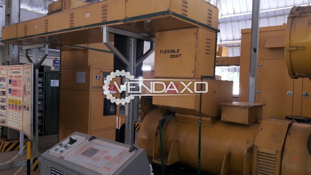 Diesel Generator - 1250 kVA
